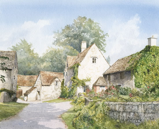 Along The Lane, Bibury