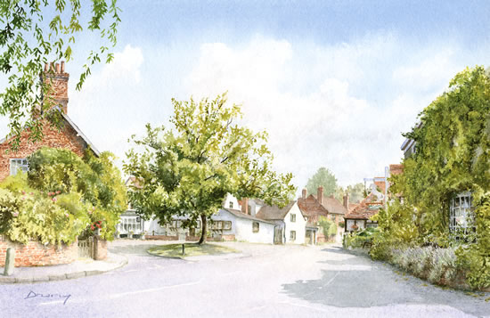 Shere Village Near Guildford Surrey